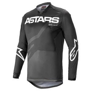 Alpinestars Racer Braap Motocross Jersey Anthrazit Weiss alpinestars Motorrad