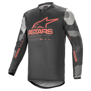 Alpinestars Racer Tactical Jersey Camouflage Rot alpinestars Motorrad