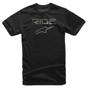 Alpinestars Ride 2-0 T-Shirt Schwarz alpinestars Motorrad