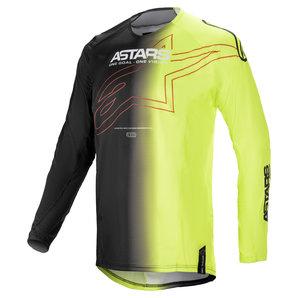 Alpinestars Techstar Phantom Jersey Schwarz Neon alpinestars Motorrad