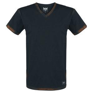Black Premium Heavy Soul T-Shirt Schwarz Motorrad