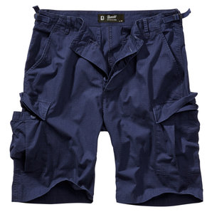 Brandit BDU Ripstock Shorts Blau Motorrad
