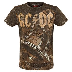 AC-DC EMP Signature Collection T-Shirt Braun Motorrad
