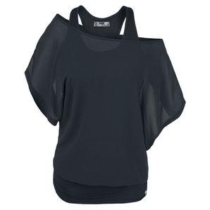 Black Premium Heart Rules Damen T-Shirt Schwarz Motorrad
