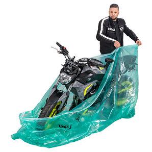 Indoor Faltgarage VCI Korrosionsschutz Louis Motorrad