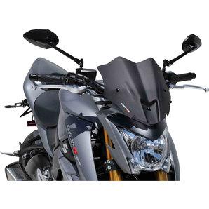Ermax Sportscheibe für Suzuki GSX-S1000 stark getönt- 15- mit ABE Motorrad