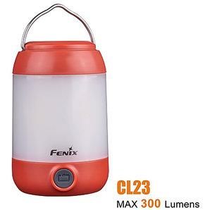 Fenix CL23 LED-Campingleuchte Rot Motorrad