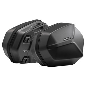 AERO ABS-Seitenkoffer-Set Schwarz SW-Motech Motorrad