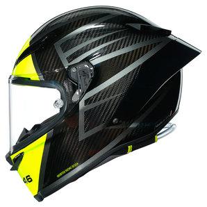 AGV Pista GP RR Essenza Integralhelm Carbon Gelb Motorrad