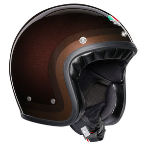 AGV X70 Chocolate Jethelm Metallic Braun Motorrad
