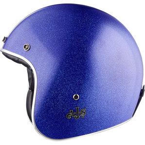 AJS Vintage Jet Jethelm Blau Motorrad
