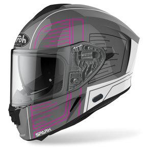 Airoh Spark Cyrcuit Pink Gloss- Integralhelm Motorrad
