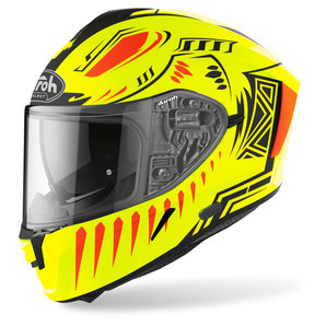 Airoh Spark Vibe Yellow Matt- Integralhelm Motorrad