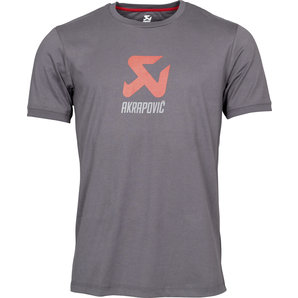 Akrapovic T-Shirt grau Grau Motorrad