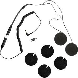 HD-Stereo Headset für Motorradhelme - MP3-Player ALBRECHT Motorrad