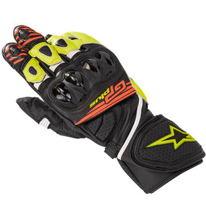 Alpinestars GP Plus R V2 Handschuhe Schwarz Neon Gelb Rot alpinestars Motorrad