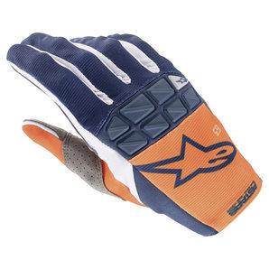 Alpinestars Racefend Handschuhe Orange Blau alpinestars Motorrad