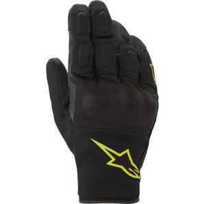 Alpinestars S Max Drystar Handschuhe Schwarz Neon Gelb alpinestars Motorrad