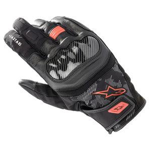 Alpinestars SMX Z Drystar Handschuhe Schwarz Rot alpinestars Motorrad
