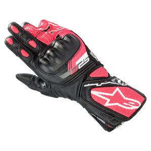Alpinestars Stella SP-8 V3 Damen Handschuhe Schwarz Weiss Pink alpinestars Motorrad