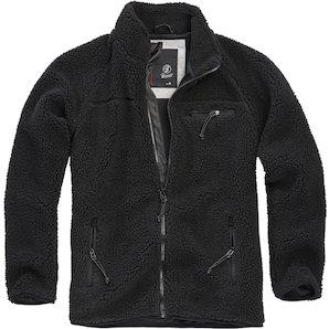 Brandit Teddyfleece Jacke schwarz XXL