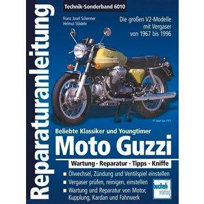 Reparaturanleitung Moto Guzzi V2 Bucheli Motorrad