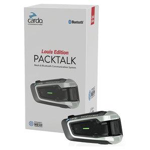 Cardo Packtalk Louis Edition Mesh und Bluetooth Kommunikationssystem Motorrad