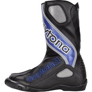 Daytona Evo Sports Stiefel Schwarz Blau Motorrad
