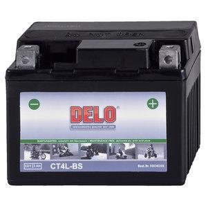 DELO Mikrovlies Batterie ohne Säurepack Delo Motorrad