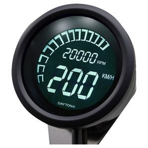 Daytona Digital Velona Tachometer-Drehzahlmesser Corporation Motorrad