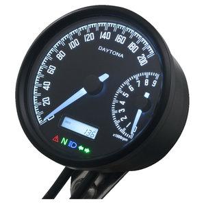 Daytona Velona-W Tachometer-Drehzahlmesser Corporation Motorrad