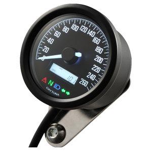 Daytona Velona60 Tachometer 260 km-h schwarz Corporation Motorrad