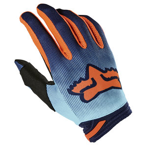 Fox 180 Oktiv Handschuhe Blau Orange FOX Motorrad