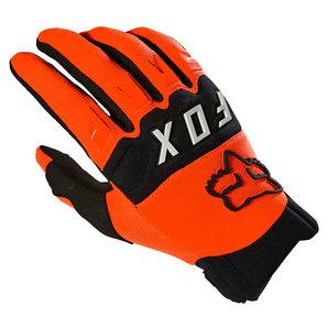 Fox Dirtpaw Handschuhe Orange Schwarz FOX Motorrad