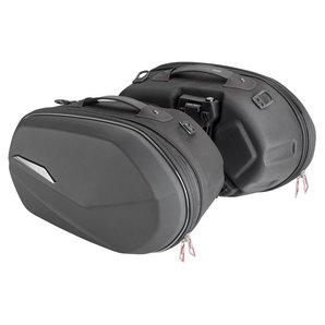 Givi SPORT-T Packtaschen ST609 Volumen: 25-25 Liter- Paar- schwarz Motorrad