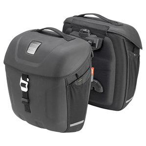 Givi METRO-T Packtaschen 18-18 Liter- Paar- schwarz Motorrad