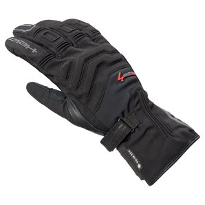 Held 22143-47 LE Four Rider Handschuhe Schwarz Motorrad