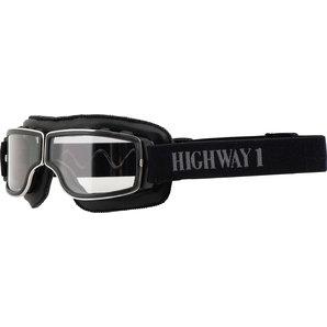 Highway 1 Retro Brille Motorrad