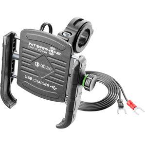 Interphone Universal Handy-Halterung USB Motorrad