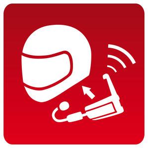 Einbauservice pro Helm Kommunikationssystem Louis Motorrad