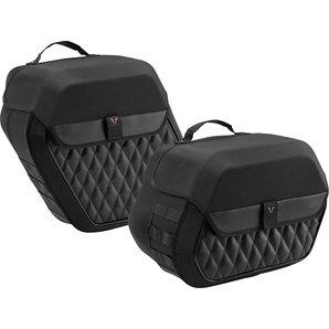Legend Gear Seitentaschen-System LH für diverse H+D Modelle- schwarz Motorrad