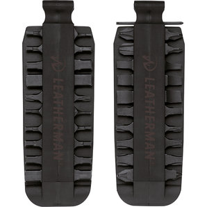 Leatherman Bit Kit mit 21 Doppelbits für alle Tools und Messer Bithalter Motorrad