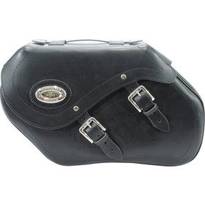 Longride Satteltaschen Echtleder mit Klickfix- 34 Liter Motorrad