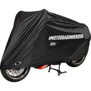 Outdoor Abdeckhaube MOTORRADIMHERZEN -motorradimherzen Louis Motorrad
