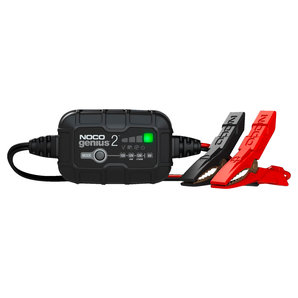 GENIUS2 Smartes Batterieladegerät 6V-12V 2A NOCO Ladegrät Auto und Motorrad Motorrad