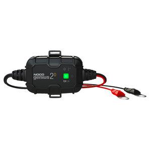 GENIUS2D kompaktes Batterieladegerät 12V 2A NOCO Ladegrät Auto und Motorrad Motorrad