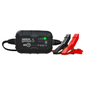 GENIUS5 smartes Batterieladekabel 6V-12V 5A NOCO Ladegrät Auto und Motorrad Motorrad