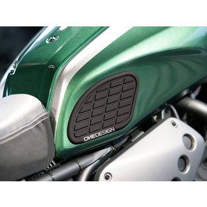 ONE DESIGN Tankprotektoren- seitlich in schwarz oder transparent- Paar ONEDESIGN Motorrad