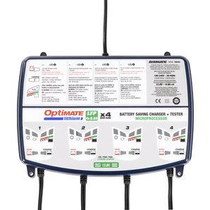 OptiMATE Lithium 4 x 0-8A Batterieladegerät Ladegrät Auto und Motorrad Motorrad