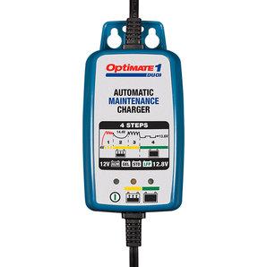 OptiMate 1 DUO Batteriewartungsgerät für Lithium- und Bleibatterien OptiMATE Ladegrät Auto und Motorrad Motorrad